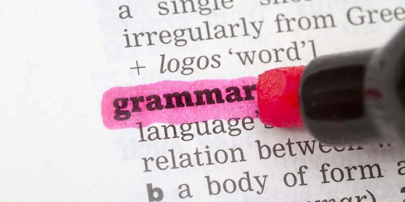 como estudar gramatica da lingua inglesa para concursos